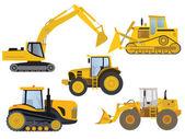 重型机械 — 图库矢量图片