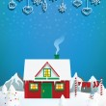 Santas house — Stock Vector #36555821