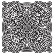 Celtic ornament (gordian knot) — Stock Vector