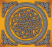 Celtic love ornament (gordian knot) — Stock Vector