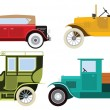 Classic cars — Stock Vector