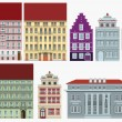 Old houses — Stock Vector #51340291