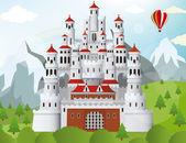 Bajkowy zamek — Wektor stockowy
