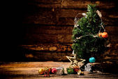 Christmas still life. — Foto Stock