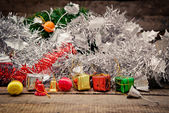 Christmas still life. — Foto de Stock