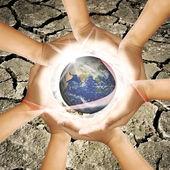 Zachránit zemi — Stock fotografie