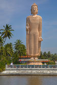 Buddha memorial of the tsunami flood in Sri Lanka — Stock Photo