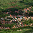 Aerial view of Rametea Village, Transylvania, Romania, Europe — Stock Photo