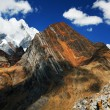 Stock Photo: CordilierHuayhuash, Peru, South America