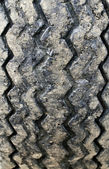Used tire background — Stock Photo