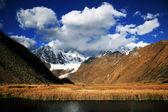 Alpine landscape in Cordiliera Huayhuash, Peru, South America — Stock Photo