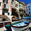 Riomaggiore Village, Cinque Terre, Italy — Stock Photo