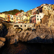 Manarola Village, Cinque Terre, Italy — Stock Photo