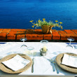 Seaside table — Stock Photo #25702119