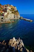 Riomaggiore köyü — Stok fotoğraf
