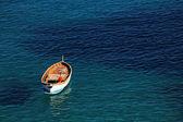 Boat on the Ligurian Sea, Cinque Terre, Italy, Europe — Stock Photo