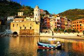 Vernazza köyü, cinque terre, i̇talya — Stok fotoğraf