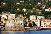 Rapalo Resort on the Ligurian Coast, Italy, Europe — Stock Photo
