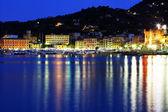 Sunset light in Santa Margherita Ligure, Italian Riviera, Europe — Stock Photo