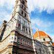 Renaissance cathedral Santa Maria del Fiore in Florence, Italy — Stock Photo #25763163