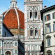 Renaissance cathedral Santa Maria del Fiore in Florence, Italy — Stock Photo #25763239