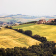 Scenic view of typical Tuscany landscape, Italy - Stock Photo