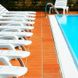 Luxury swimming pool - Foto Stock