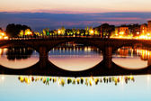 Bridge over Arno river in Florence, Italy — Stock Photo