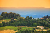 Tuscan landscape, Italy, Europe — Stock Photo