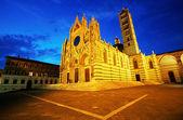 Catedral de Siena santa maria, Toscana, Itália — Fotografia Stock