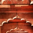 Architectural detail of Lal Qila - Red Fort in Delhi, India — Zdjęcie stockowe