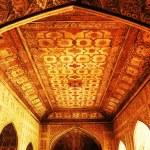 fort rouge d'Agra, un patrimoine mondial de l'unesco et un des touristes plus gros points forts, à seulement 2 km du taj mahal. construit par plusieurs empereurs moghol du xv et xvi siècle. uttar pradesh, Inde — Photo #25811445
