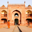 Stock Photo: Itmad-Ud-Daulah's Tomb at Agra, Uttar Pradesh, India