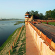 Stock Photo: AgrRed Fort, Unesco World Heritage site