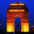 India Gate in New Delhi, India (commemoration of the 90,000 soldiers of the British Indian Army who lost their lives in British Indian Empire) — Stock Photo #25811905