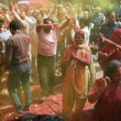 Covered in paint on Holi festival — Stock Photo #25813351