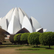 Bahai House of Worship, Lotus temple, India — Stock Photo