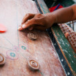Carrom traditional indian game — Stock Photo