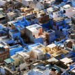 "Jodhpur the ""Blue city"" in Rajasthan, India - view from the Mehrangarh Fort — Lizenzfreies Foto"