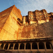 Mehrangarh Fort in Jodhpur, Rajasthan, India — Стоковая фотография