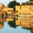 Gadisagar lake, Jaisalmer, India — Foto Stock