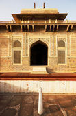 Itmad-ud-Daula's Tomb is a Mughal mausoleum. Agra, India — Stock Photo