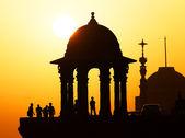 Indian Government buildings, Raj Path, New Delhi, India — Stock Photo