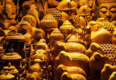 Figurines from Nepal — Stock Photo