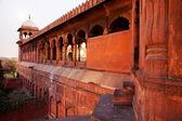 Architektonische detail der jama masjid moschee, alt-delhi, indien. — Stockfoto