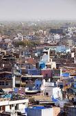 "Jodhpur the ""Blue city"" in Rajasthan, India — Stock Photo"