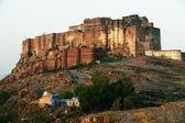 Mehrangarh Fort and Jaswant Thada mausoleum in Jodhpur, Rajasthan, India — Stock Photo