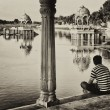 Gadisagar lake, Jaisalmer, India — Photo #25840707