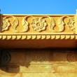 Architectural detail of Mandir Palace Museum, Jaisalmer, India, Asia — Stock Photo #25840751