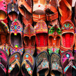 Indian traditional slippers - Stockfoto